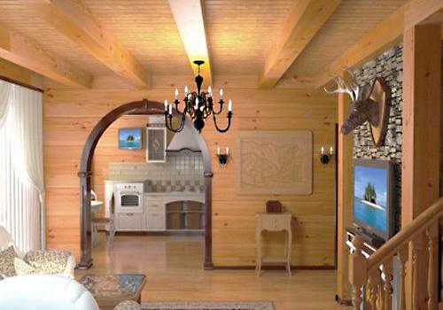 Come decorare le pareti nella casa del giardino. Riscaldamento del ... 2403ac5b31a2