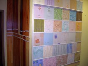 Het plastic paneel is breed. Kunststof panelen voor muren, als een ...