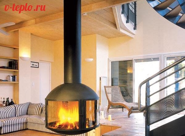 Um Eine Solche Feuerstelle Auf Dem Holz Zu Installieren, Sind Qualitativ  Hochwertige Befestigungen Erforderlich, Da Das Gewicht Einer Solchen  Konstruktion ...
